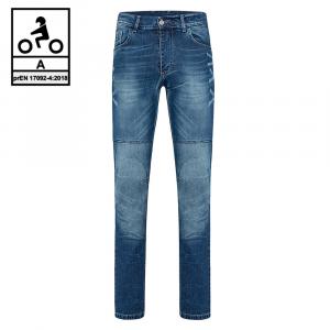 Jeans moto Befast JARVIS CE Certificati Blu stonewash