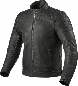 Giacca moto pelle Rev'it Cordite Nero