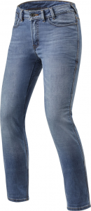 Jeans moto donna Rev'it Victoria Ladies Classic Blu Slavato L30