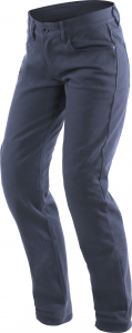 Pantaloni moto donna Dainese Casual Slim Lady Blu