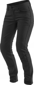 Pantaloni moto donna Dainese Classic Slim Lady Nero