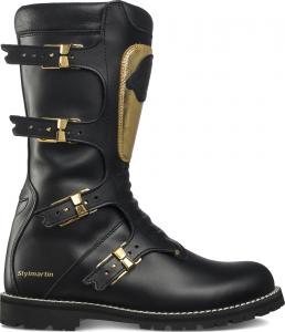 Stivali moto Stylmartin Fashion CONTINENTAL GOLD Nero Oro