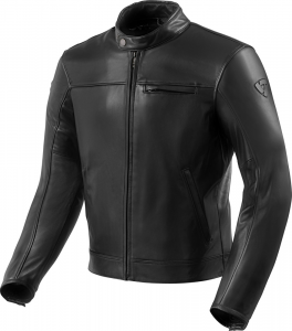 Giacca moto pelle Rev'it Roamer 2 Nero