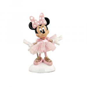 Statuina mini Minnie ballerina in resina