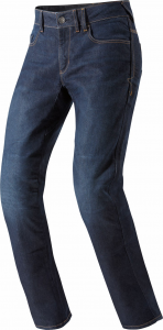 Jeans moto Rev'it Philly Blu scuro Allungato