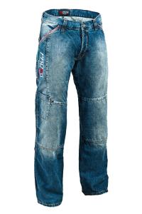 Jeans moto PMJ - Promo Jeans Boston Swot Blu
