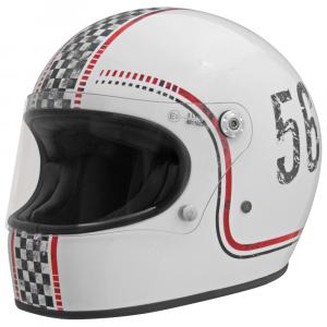 Casco integrale Premier Trophy FL 8 in fibra bianco
