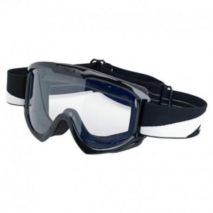 Occhiali moto Biltwell Goggle Bolts nero