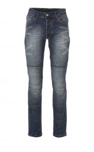 Jeans moto Befast Ultron con protezioni alle ginocchia e Fibra Aramidica Blu Chiaro