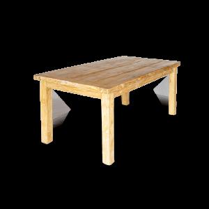 Tavolo in legno di teak indonesiano brown wash