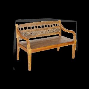 Panca in legno di teak indonesiano