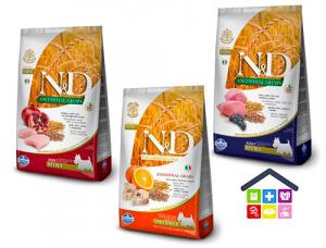Farmina N&D | Linea ANCESTRAL GRAIN CANINE | Vari Gusti - ADULT MINI 2,5kg polo/agnello,merluzzo