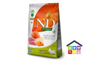 Farmina N&D  PUMPKIN CANINE | Gusto Cinghiale e Mela  Adult Mini 0.800kg/2,5kg