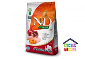 Farmina N&D  PUMPKIN CANINE | Gusto Pollo e Melograno Adult Medium/Maxi 2,5kg/12 kg