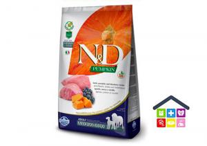 Farmina N&D PUMPKIN CANINE | ADULT  AGNELLO E MIRTILLO  Medium/Maxi 2,5kg/12kg