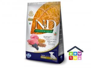 Farmina N&D |ANCESTRAL GRAIN - PUPPY MINI - AGNELLO E MIRTILLO 0,800g/2,5kg