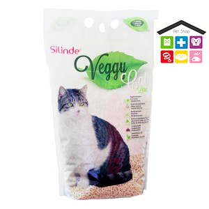 Lettiera per gatti Silinde Veggy - 6lt