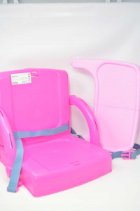 High Chair Table Top Hi Seat Baby In Plastic Pink