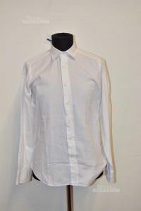 Shirt Man White The Lanificio Size M
