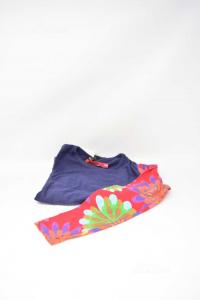 T-shirt Baby Girl Desigual Years 9-10 Sleeves Fiorite