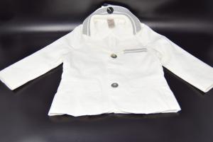 Jacket White Boy Nucleus 9 - 12 Months