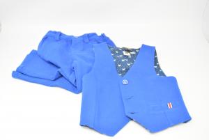 Gilet + Trousers Blue Grain De Blè Boy 24 Months