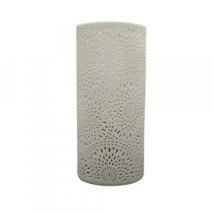 Mascagni lampada ceramica traforata 24cm