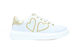 Glitter hearts sneaker