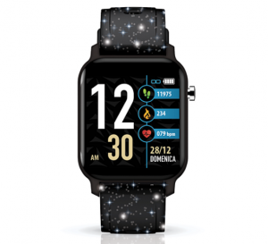 TECHMADE Smartwatch Techwatch X Collection - Glitter Black