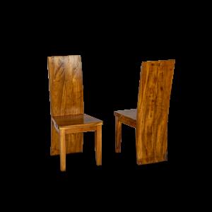 Sedia in legno di suarn indonesiano