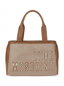 Love Moschino Borsa Shopping Cuoio