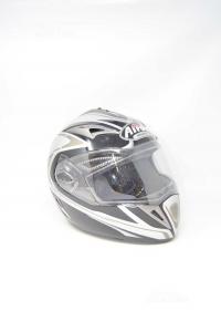 Casco Airoh Helmet Grigio/nero Tg. M (usato Poco)