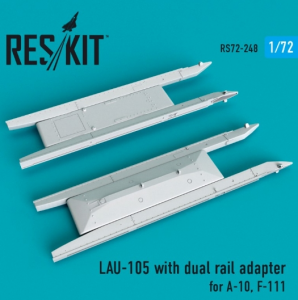 LAU-105 with dual rail adapter