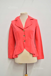 Jacket Woman Caprice With Buttons Gold Plated Size.44