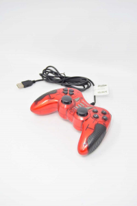 Joystick Con Attacco Usb Xtreme Arancione E Nero