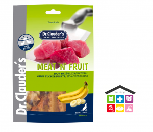 Meat`n Fruit Snack banana e pollo 0,80g