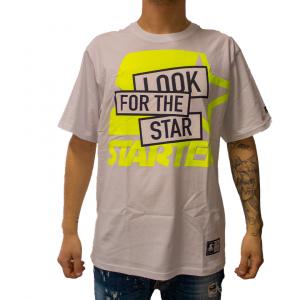Starter T-Shirt con Stampa Bianca da Uomo