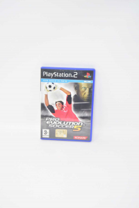 Video Game Play 2 Pro Evolution Soccer 5 With Manual