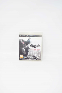 Video Game Playstation 3 Batman Arkham City With Manual