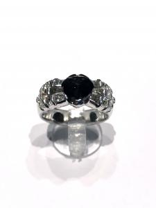 Anello Diamante Nero