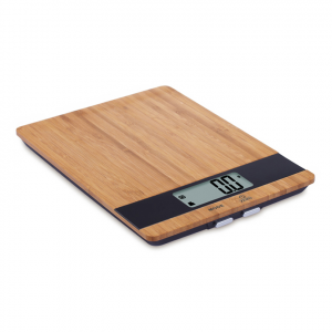 Bilancia cucina digitale legno 5kg