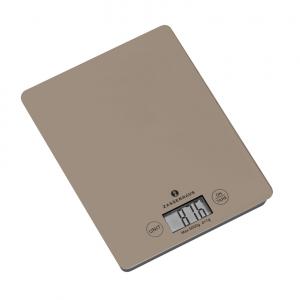 Bilancia cucina digitale grigia ampio display 5kg