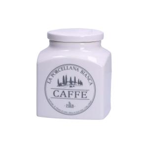 Porcellana Bianca -  BARATTOLO CAFFE'