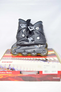 Inline Skates Black Roces 30 To 35