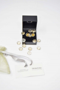 Satchel Of Brilliant Swarovski Kristall