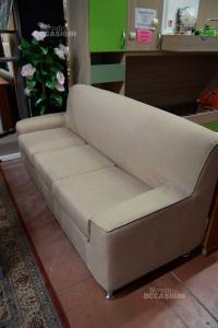 Sofa Beige 3 Seats (defect Side) New