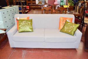 Sofa Gray Ice 3 Seats New