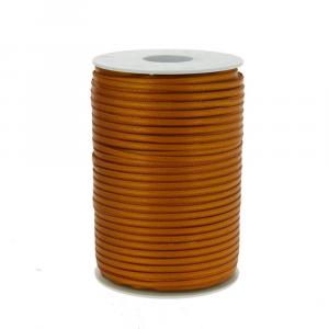 Nastro doppio raso mm 3 x 300 mt senape