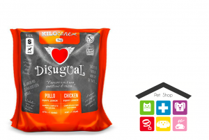 Disugual puppy small 1kg pollo