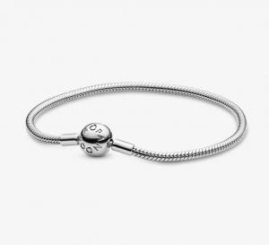 Bracciale Moments – Maglia snake con chiusura a sfera